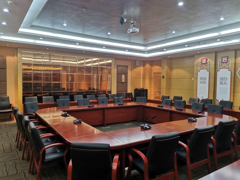 <span>上海宝山区经济发展有限公司会议厅(牡丹厅)</span><br />